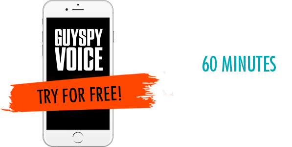 Don't Forget! Your first 60 minutes on GuySpy Voice is... TOTALLY FREE!